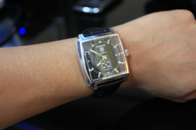 Replica Tag Heuer Monaco 37MM Steel Case Watches-
