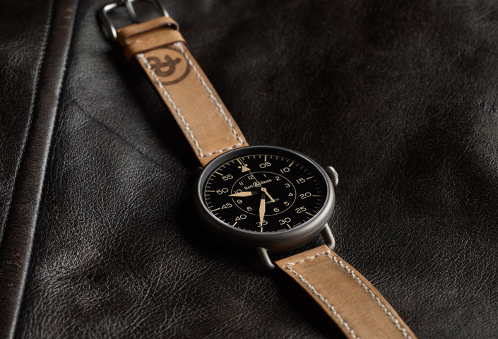 Replica Bell & Ross Vintage WW1 Heritage Calfskin Strap Watches