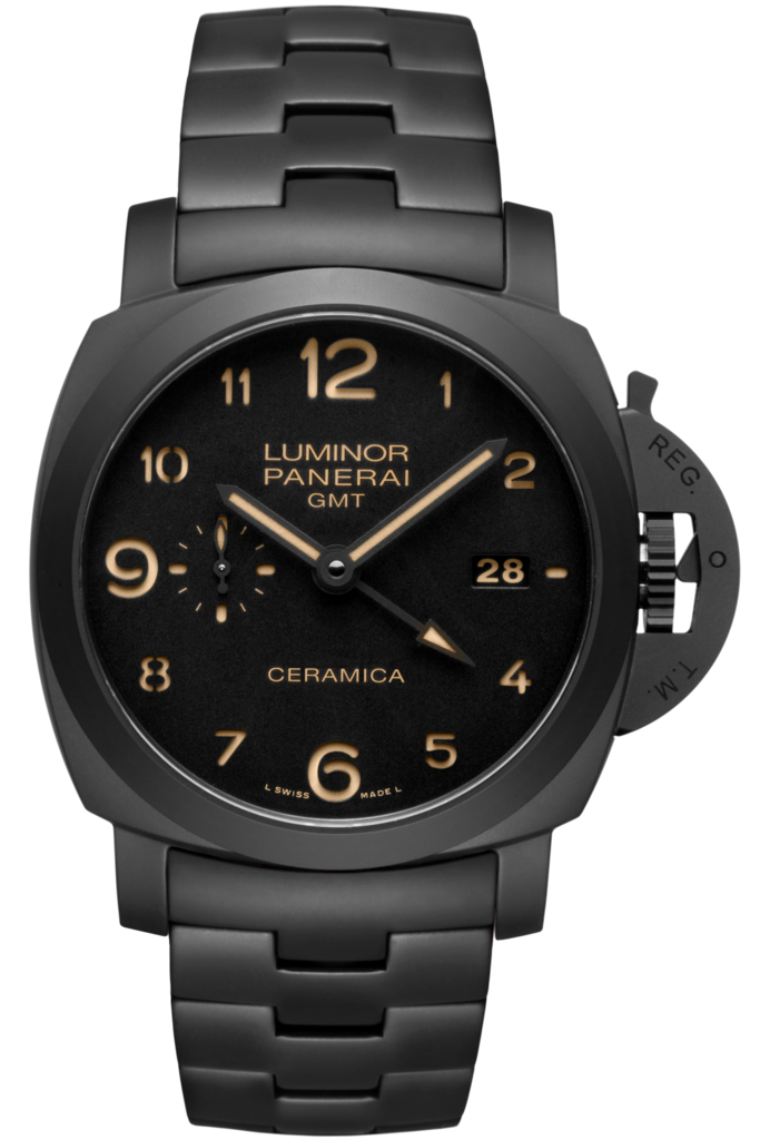 Panerai Tuttonero Luminor 1950 GMT Ceramica 44MM