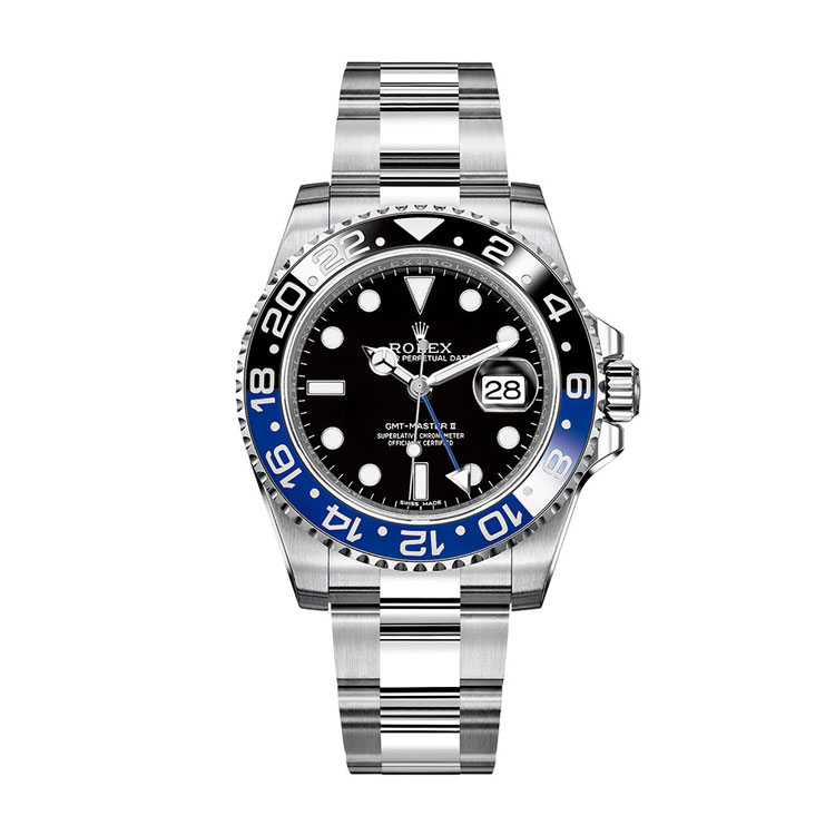 rolex GMT Master with blue and black fake