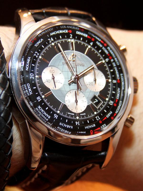 Breitling Transocean Chronographe Unitime