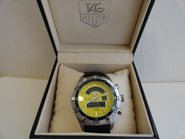 Tag Heuer Aquaracer Analog Digital Fake Watch