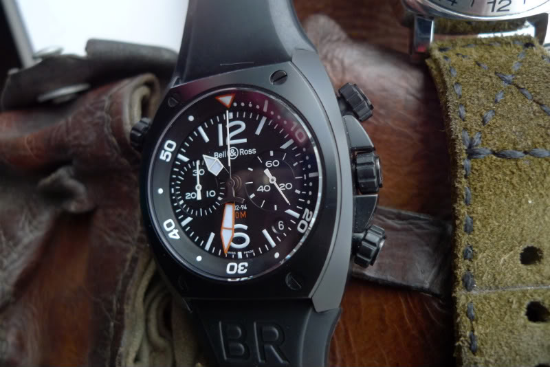 Bell & Ross Marine BR02-94 Carbon Chronograph
