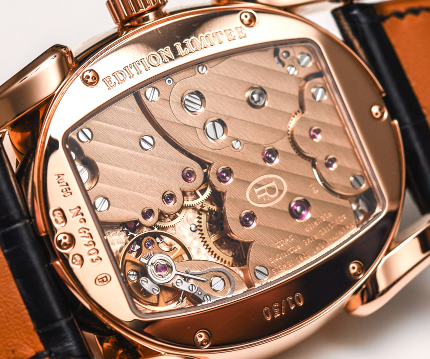 Parmigiani Ovale Pantographe 'Guilloche' Barley Grain Dial & Gold Movement Watch Hands-On Hands-On