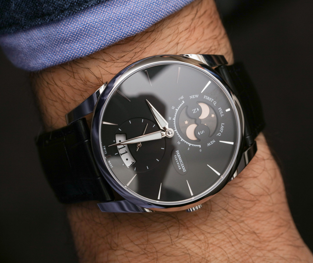Parmigiani Tonda 1950 Lune Watch Hands-On Hands-On