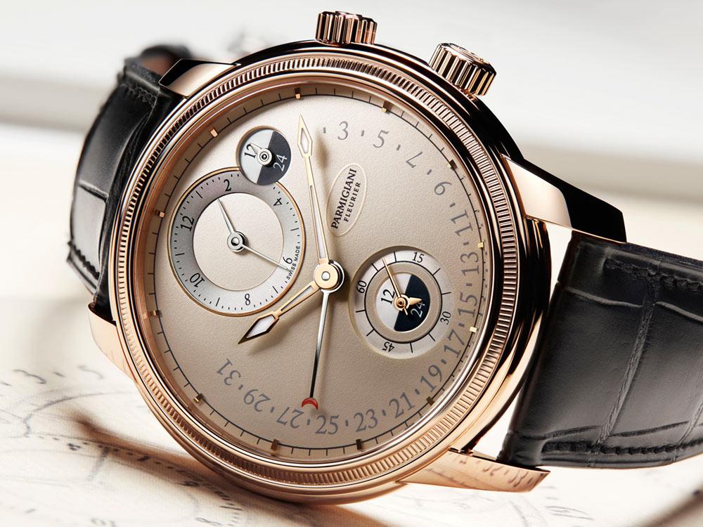 Parmigiani Toric Hémisphères Rétrograde Watch Watch Releases