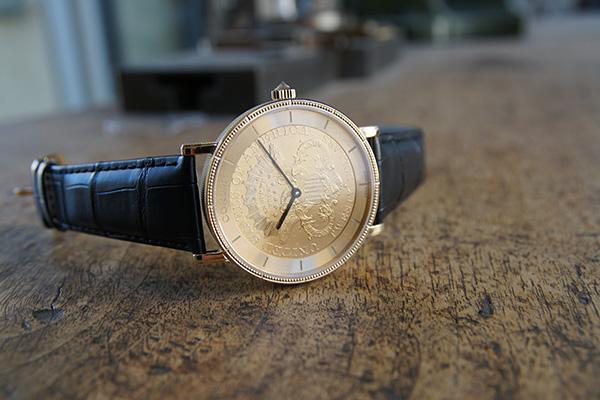 corum coin watch replica