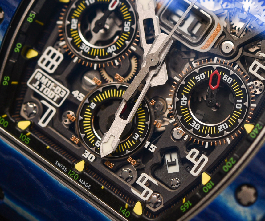 Richard Mille RM 11-03 Jean Todt 50th Anniversary Watch Hands-On Hands-On