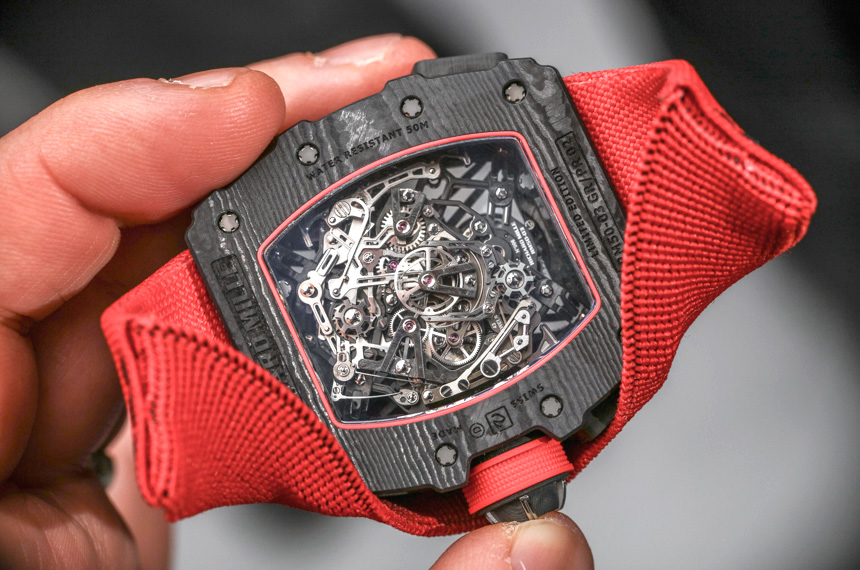 Richard Mille RM 50-03 McLaren F1 Record-Setting Lightweight Watch For ,000,000 Hands-On Hands-On