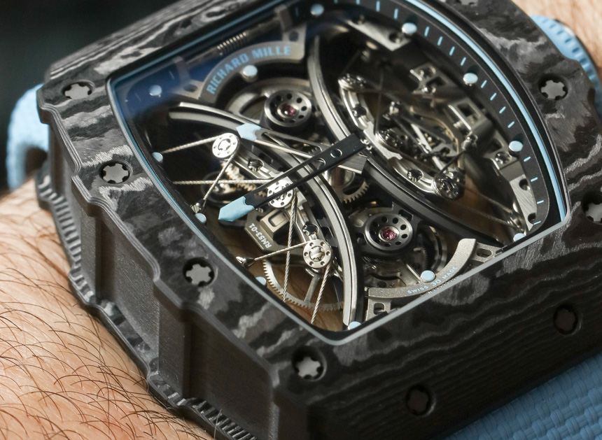 Richard Mille RM53-01 Tourbillon Pablo Mac Donough Watch Hands-On Hands-On