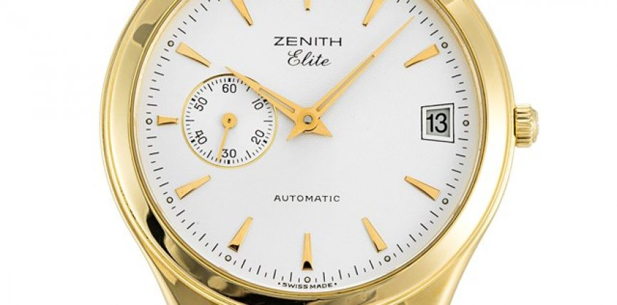 Cheap Replica Zenith Elite 38mm Yellow Gold Case Watches ref.680