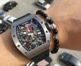 Best Richard Mille Felipe Massa RM011 Americas 5 Replica Watch