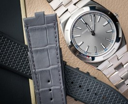 Grey Dial Vacheron Constantin Overseas Ultra-Thin Replica Watch