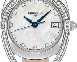 White Mother-Of-Pearl Dials Diamonds Bezel Longines Equestrian Copy Watches