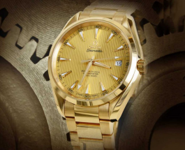 Omega Seamaster Aqua Terra 150 M gold replica watches REF.231.50.42.21.08.001