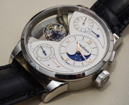 Replica Jaeger-LeCoultre Duometre Spherotourbillon Moon Steel Watches