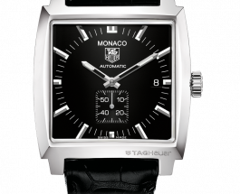 Swiss Replica Tag Heuer Monaco 37MM Full Black Watch