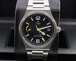 Black Dial Steel Case Tudor North Flag Replica Watch