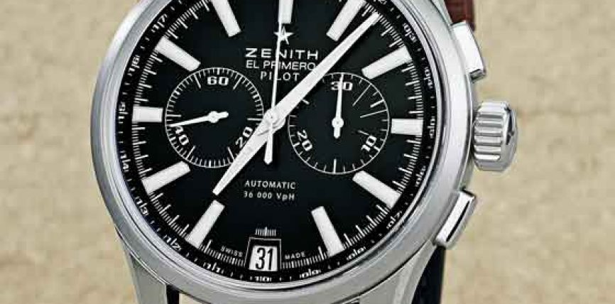 Fake Watches Review: Zenith Captain Pilot Chronograph Replica Watch