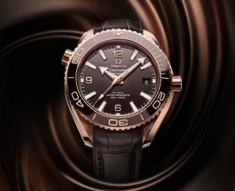 Omega Seamaster Planet Ocean 600m Rose Gold Replica Watches