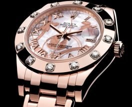 Best Replica Rolex Pearlmaster 34mm Everose Gold Watches