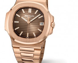 Replica Patek Philippe Nautilus Rose Gold Watch ref.Ref. 5711/1R