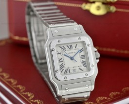 More about Replica Cartier Santos Galbee Quartz Men Watch Reference No. W20060D6