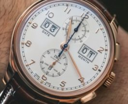 IWC Portugieser Grande Complication 1907 White Dial Rose Gold Replica Watches