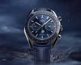 Omega Speedmaster Moonwatch Chrono Blue Dial copy watches