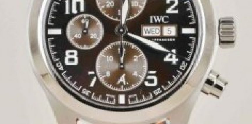 High Technology IWC Pilot Top Gun Chrono Steel Replica Watches