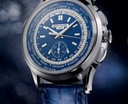 All-New Patek Philippe World Time Chronograph Replica Watches Ref. 5930G