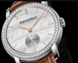 White Mother-Of-Pearl Dials Audemars Piguet Jules Audemars Replica Watches