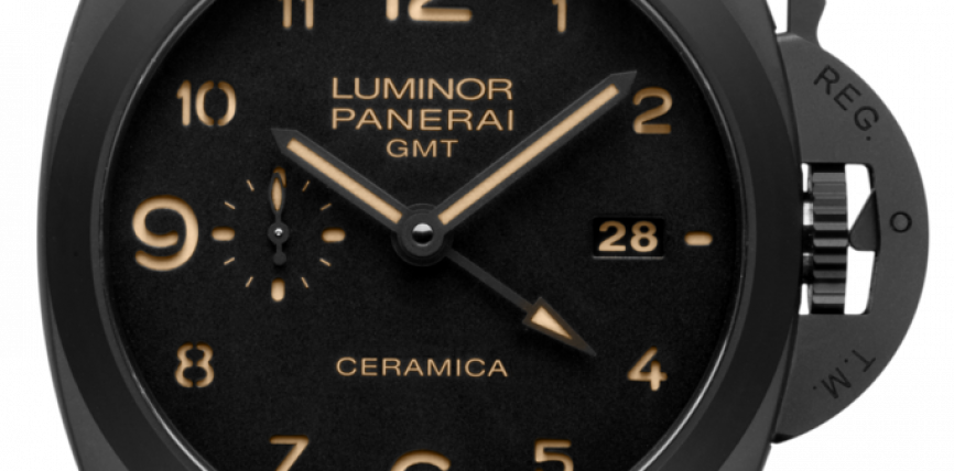 Cheap panerai tuttonero luminor 1950 3 days gmt 44MM ceramic Watches