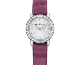 Blancpain Ladybird Ultraplate Diamond Replica Watches For Women