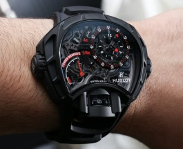 Hublot Replica MP-12 Key Of Time Skeleton Black Watch