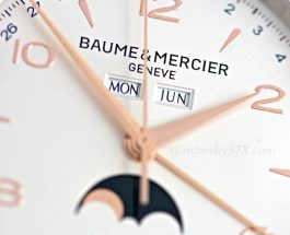 Replica Clearance Hands-On With The Baume & Mercier Clifton 10057 Triple Calendar-Moon Phase (With Photos And Pricing)