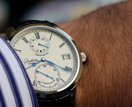 White Dial Glashütte Original Senator Chronometer Replica Watch
