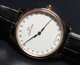Jaquet Droz Grande Heure One Hand GMT Watch Hands-On Replica Wholesale