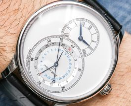 Jaquet Droz Grande Seconde Dual Time Watch Hands-On Swiss Movement Replica Watches