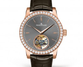 Diamonds bezel jaeger lecoultre master grand tourbillon replica watch