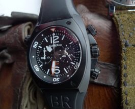Best Bell & Ross Marine BR02-94 Carbon Chronograph Replica Watch