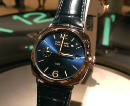 Panerai Radiomir GMT 3 Days Oro Rosso Replica Watch PAM 421