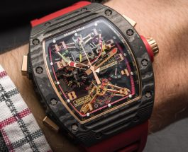 Top Quality Richard Mille RM 50-01 G-Sensor Tourbillon Chronograph Watch Replica