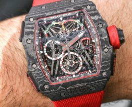 Perfect Clone Online Shopping Richard Mille RM 50-03 McLaren F1 Record-Setting Lightweight Watch For1,000,000 Hands-On