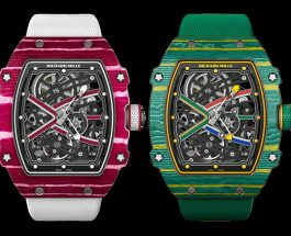 Replica Watches Free Shipping Richard Mille RM 67-02 High & Sprint Jump Watches