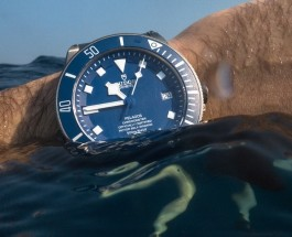Blue Dial Tudor Pelagos Titanium Automatic Men's Replica Watch ref.25600TB