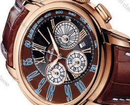 Rose Gold Audemars Piguet Millenary Chronograph Replica Watch 26145OR.OO.D095CR.01