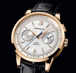 Red Gold Montblanc Heritage Spirit Pulsograph Replica Watch