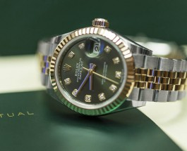 Best rolex oyster perpetual lady datejust two-tone watch replica