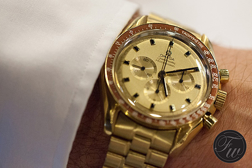 Cheap Replica Watches: The Most Exciting Replica Omega Speedmaster Watches Full Yellow Gold